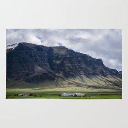 Farm in Iceland Rug