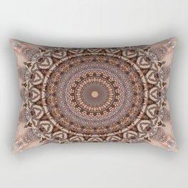 Mandala romantic pink Rectangular Pillow