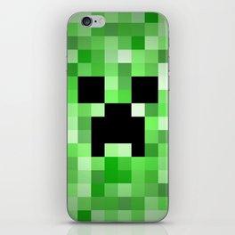 Creepy Creeper! iPhone Skin
