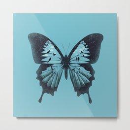 Papilio ulysses Metal Print
