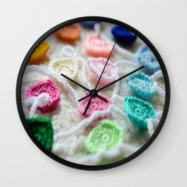 Gathered Hearts Wall Clock