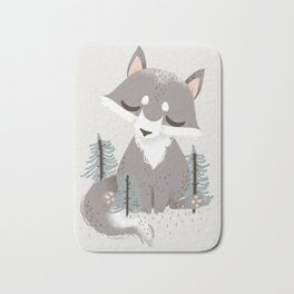 "The ""Animignons"" - the Wolf Bath Mat"