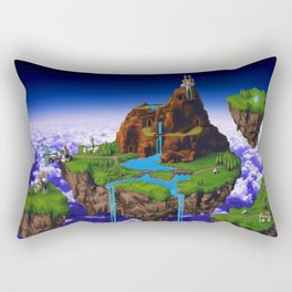 Floating Kingdom of ZEAL - Chrono Trigger Rectangular Pillow