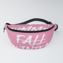 Summer Only - summer quote Fanny Pack