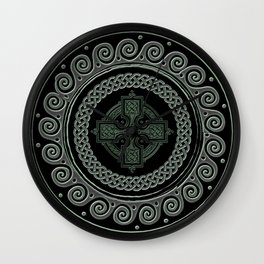 Awesome Celtic Cross Wall Clock