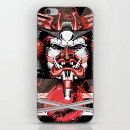Samurai Flag iPhone Skin