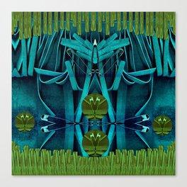 Underwater Feel Canvas Print