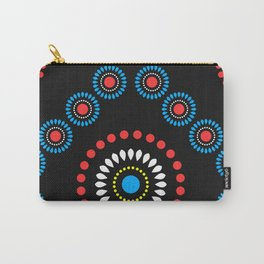 African Diamond (Red) Carry-All Pouch