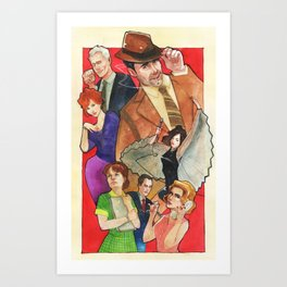 Mad, Mad World Art Print