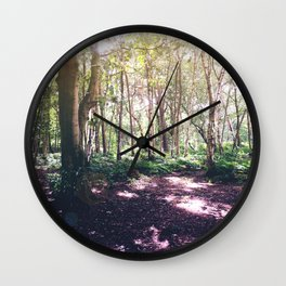 Forest Glare Wall Clock