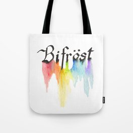 Bifrost the road to Valhalla Tote Bag