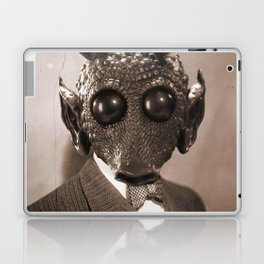 Portrait of Sir Greedo Laptop & iPad Skin