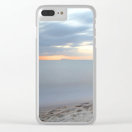 Driftwood Sunset Clear iPhone Case