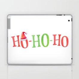 HO HO HO Christmas Elements Design Laptop & iPad Skin