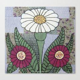 Woodland Flowers 3 Canvas Print