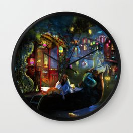 Wanderer's Cove Wall Clock