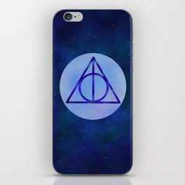 Deathly hollows iPhone Skin