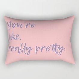 Regina George (Pink) Rectangular Pillow