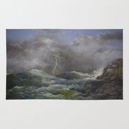 Storm Warnings Rug