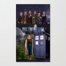 7 Doctors 5 Canvas Print