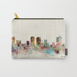 fort worth skyline Carry-All Pouch