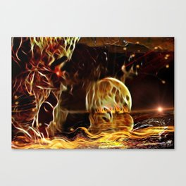 The Rising Horizont Canvas Print
