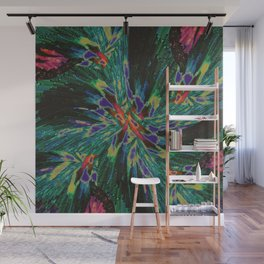 Whirlwind of Birds Wall Mural
