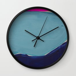 Colour Fields 2 Wall Clock