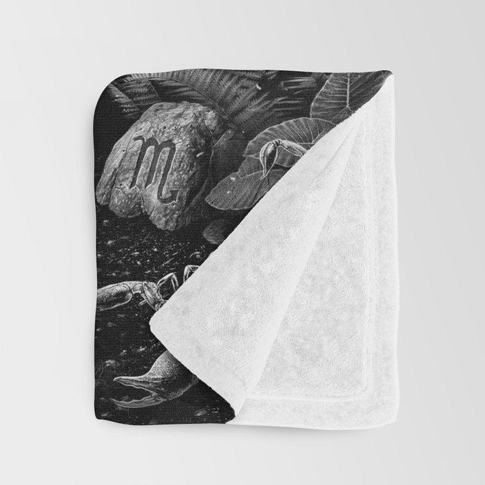 XIII. Death & Rebirth Tarot Card Illustration (Alternative Version) Throw Blanket