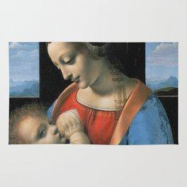 """Leonardo da Vinci """"Madona Litta"""" Rug"""