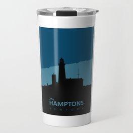 The Hamptons - Long Island. Travel Mug