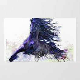 Horse running  Rug