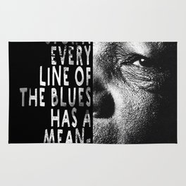 The Blues Tells A Story Rug