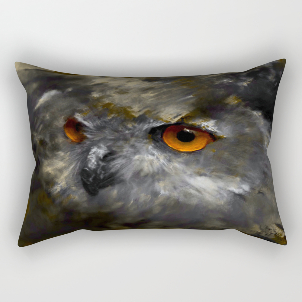 Ruler Of The Night Rectangular Pillow RPW9097859