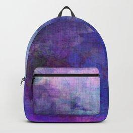 blue opal gemstone Backpack