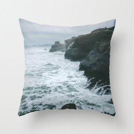 Cape Kiwanda II Throw Pillow