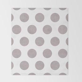 Big Dots 1 Throw Blanket