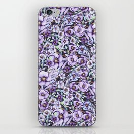 FLOWERS WATERCOLOR 24 iPhone Skin