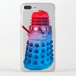 Exterminate! Clear iPhone Case