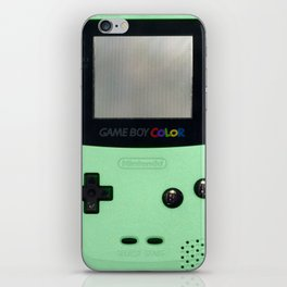 Gameboy Color: Mint iPhone Skin