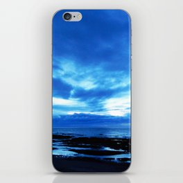 Arm from Above Plays with the Sunset iPhone Skin