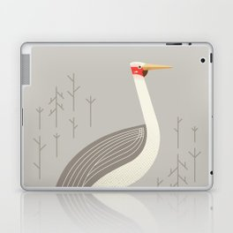 Brolga, Bird of Australia Laptop & iPad Skin