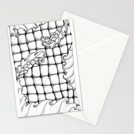 Dragon flowers Stationery Cards