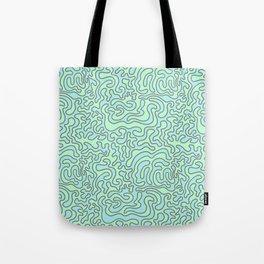 Wacky Pattern Tote Bag