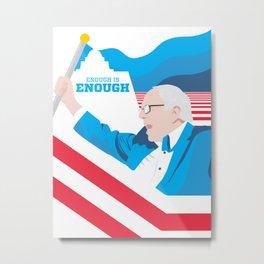 Enough is Enough poster Metal Print