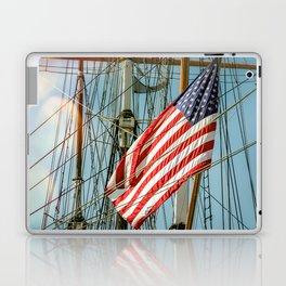 Sailing Ship Flag Laptop & iPad Skin