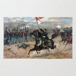 Sheridan's Ride -- Civil War Rug