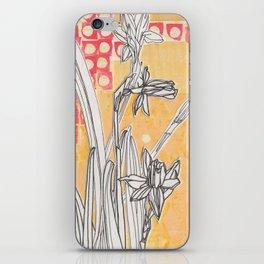 Daffodils iPhone Skin