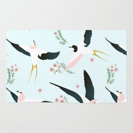 Birds #society6 #decor #buyart Rug