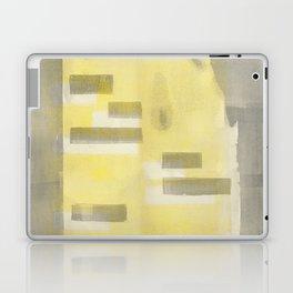 Stasis Gray & Gold 1 Laptop & iPad Skin